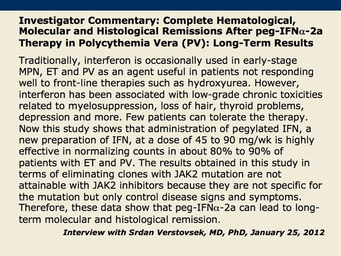 polycythemia vera treatment guidelines pdf